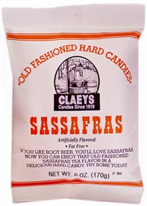 Claey's Old Fashioned Candy Drops - Sassafras