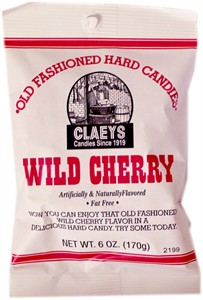 Claey's Old Fashioned Candy Drops - Wild Cherry