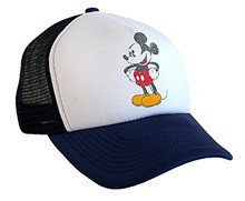 Mickey Mouse Distressed Trucker Hat ( out of stock)