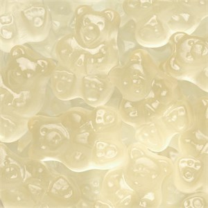 Gummi Bears - Clear Gold Poppin Pineapple 5LB