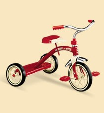RADIO FLYER CLASSIC RED 10 INCH TRICYCLE (Sold Out)