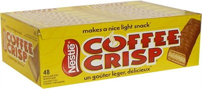 Coffee Crisp Bars 48ct. (discontinued)