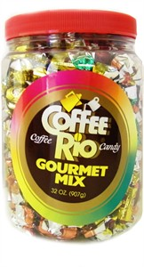 Coffee Rio Candy Gourmet Mix Jar 32oz.