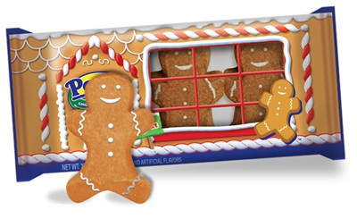 Gingerbread Flavored Marshmallow Peeps Gingerbread Men 3ct.