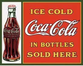 COKE Sold Here in Bottles (SOLD OUT)
