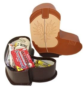 Cowboy Boot Candy Assortment Gift Box