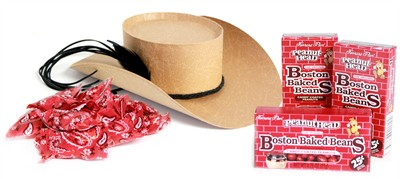 Cowboy Hat Candy Assortment Gift Box