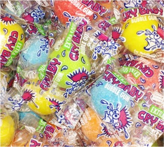 Cry Baby Bubble Gum 5LB