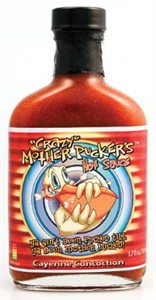 Crazy Mother Pucker's Cayenne Concoction Hot Sauce (Sold Out)