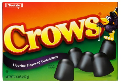 Crows Licorice Flavored Gumdrops