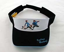 Curious George Naughty Visor (sold out)