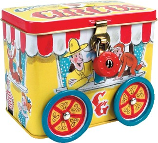 CURIOUS GEORGE TIN BANK (Sold Out)