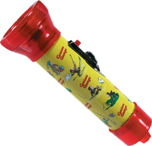 Curious George Tin Flashlight (DISCONTINUED)
