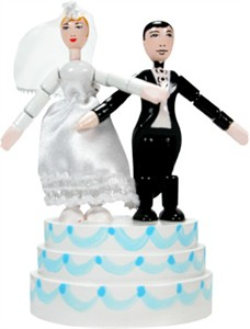 Bride & Groom Thumb Toy (DISCONTINUED)