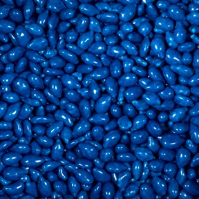 Sunbursts Dark Blue Candy Coated Sunflower Seeds 5LB