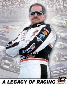 Dale Sr. - Legacy of Racing Sign (Discontinued)