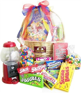 Deluxe Gumball Machine Basket