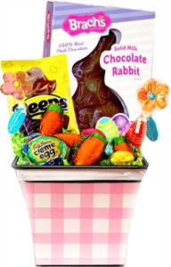 Deluxe Spring Easter Candy Flower Basket (sold out)