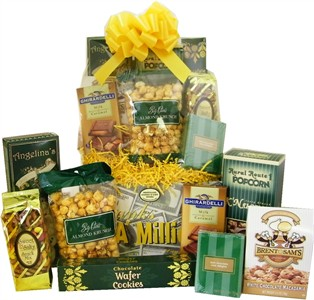 Deluxe 'Thanks a Million' Snack Gift Basket (Sold Out)