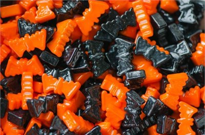 Ding Bats Black & Orange Bats 1LB