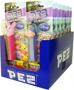 Disney My Friends Tigger and Pooh Blister Pack PEZ Dispensers 12ct (DISCONTINUED)