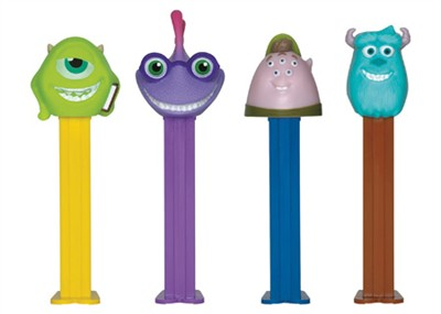 Disney Pixar Monsters University Pez Dispensers 12ct.