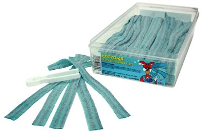Dorval Sour Power Belts - Berry Blue 150ct. Tub