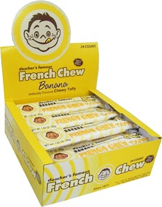French Chew Banana 24ct. (DISCONTINUED)