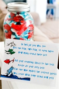 Dr. Seuss Party Candy