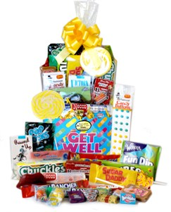 Get Well Band-aid Candy Gift Basket
