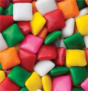 Dubble Bubble Chiclets Bubble Gum 5LB