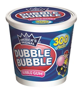 Dubble Bubble Gum 300ct Tub