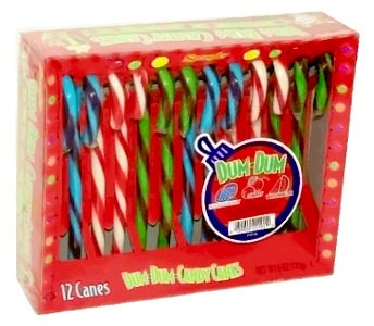 Dum Dum Candy Canes 12ct.