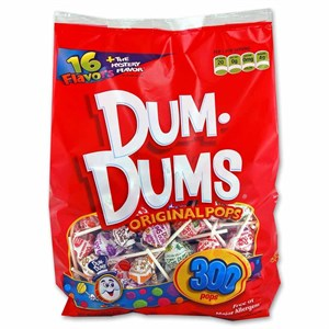 Dum Dum Pops 300ct.