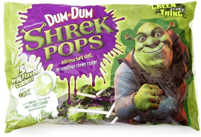 Dum Dum Shrek Pops 13oz. (DISCONTINUED)