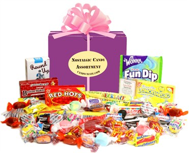 Spring Time Nostalgic Candy Gift Box