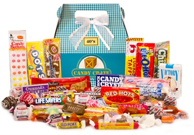 Easter Retro Candy Gift Basket