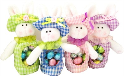 Easter Bunny Chocolate Egg Filled Favors (discontinued)