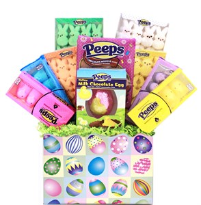 Easter Marshmallow Peep Candy Gift Basket (sold out)
