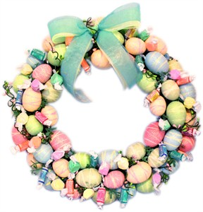 Easter Egg Candy Wreath (DISCONTINUED)