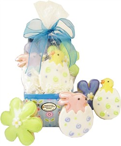 Easter Daisy Cookie Gift Box (DISCONTINUED)
