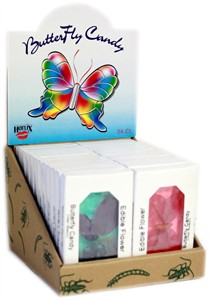 Edible Flower Butterfly Candy 24ct.