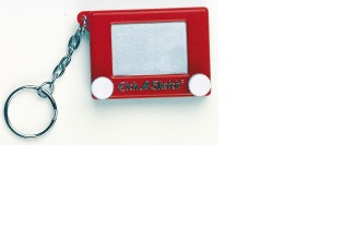 Etch A Sketch Keychain (Sold Out)