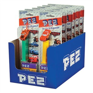 CARS Movie Pez Dispensers 12ct