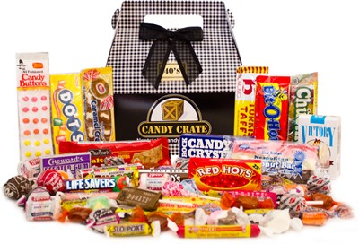 Father's Day Retro Candy Gift Box