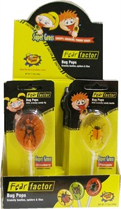 Fear Factor Bug Pops 24ct (DISCONTINUED)