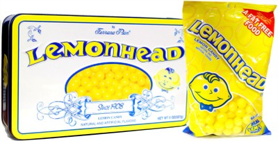 Lemonheads Candy Tin 8oz. (discontinued)