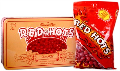 Red Hots Candy Tin 8oz.