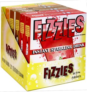 <strong>Fizzies Candy Drink Tablets ASSORTED Six Pack &#9658;</strong>