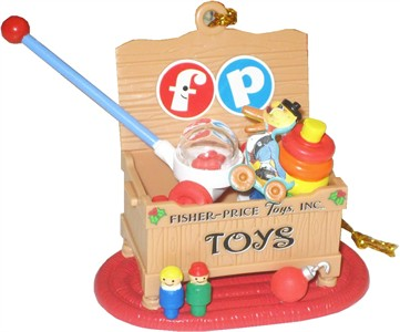 Fisher-Price Toy Chest Christmas Tree Ornament (Sold Out)